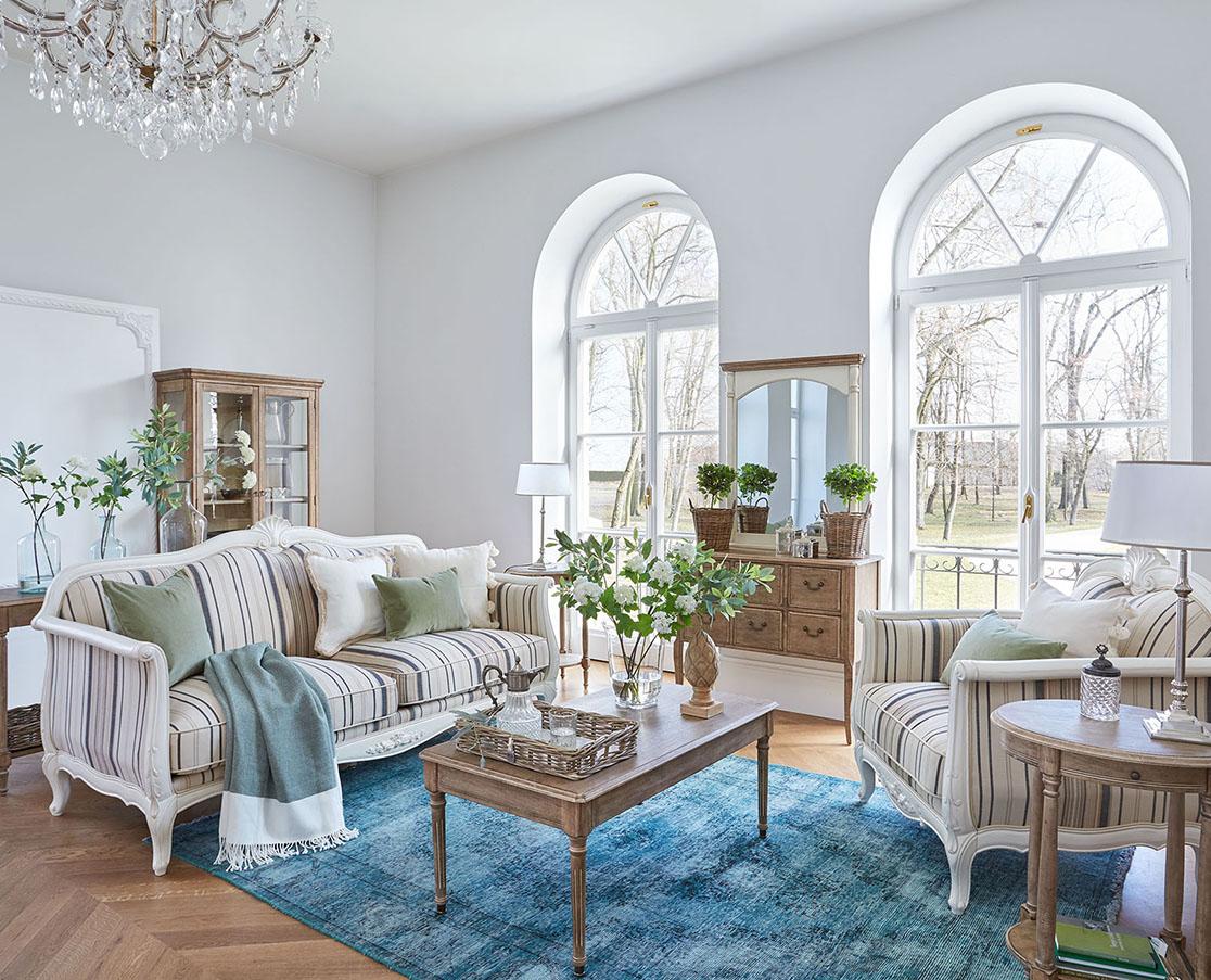 Jak zařídit obývací pokoj v provensálském stylu?