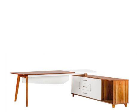 Moderní psací stůl + komoda EVOLUTIO A309 240 cm