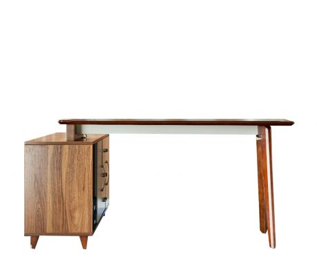 Moderní psací stůl + komoda EVOLUTIO A609 140 cm