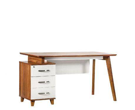 Moderní psací stůl + kontejner EVOLUTIO TB-0F 140 cm