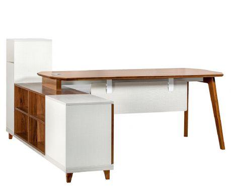 Moderní psací stůl + komoda EVOLUTIO A109 180 cm
