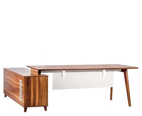 Moderní psací stůl + komoda EVOLUTIO A609 200 cm