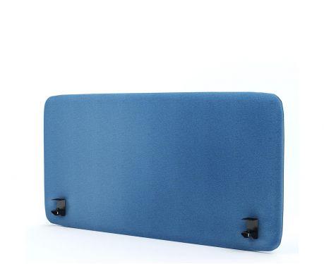 Akustický panel pro psací stůl 120x60 modrý