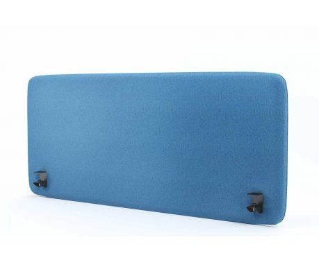Akustický panel pro psací stůl 140x60 modrý