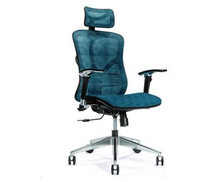 Ergonomické kancelářské křeslo ERGO 500 tmavě modré