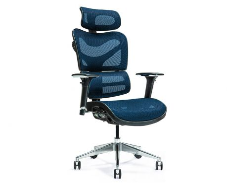 Ergonomické kancelářské křeslo ERGO 600 modré