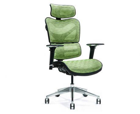 Ergonomické kancelářské křeslo ERGO 600 zelené