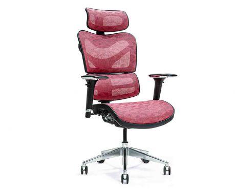 Ergonomické kancelářské křeslo ERGO 600 červené