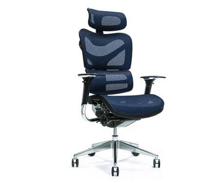 Ergonomické kancelářské křeslo ERGO 700 modré
