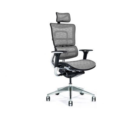 Ergonomické kancelářské křeslo ERGO 800-M šedé