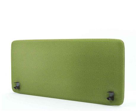 Akustický panel pro psací stůl 140x60 olivový