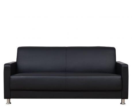 Pohovka 3-místná HELIOS černá