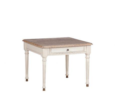 Konferenční stolek NEGRE ořech / ecru