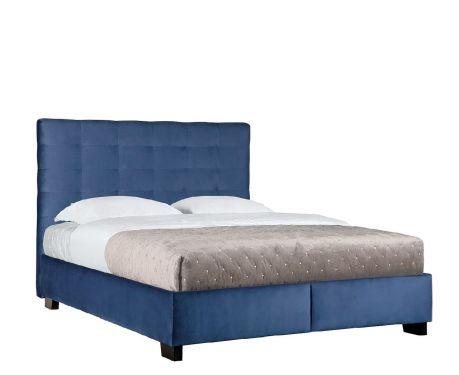 Prošívaná postel 160x200 FENDI