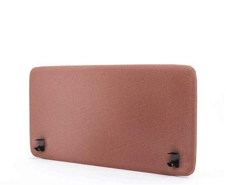 Akustický panel pro psací stůl 120x60 růžový