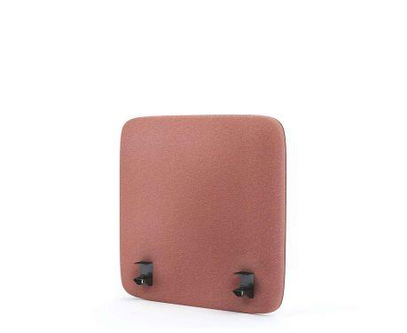 Akustický panel pro psací stůl 60x60 růžový
