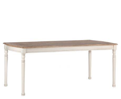 Stůl DENIS ořech / ecru