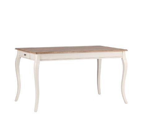 Stůl LEGER ořech / ecru