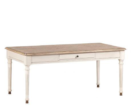 Konferenční stolek MOREAU ořech / ecru