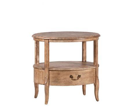 Odkládací stolek BARILLE vlašský ořech