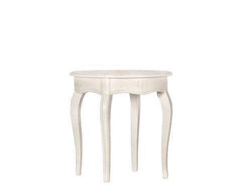 Odkládací stolek COLETTE blanc