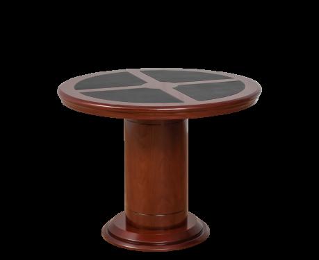 Kulatý kancelářský stolek MERKUCJO 100 cm