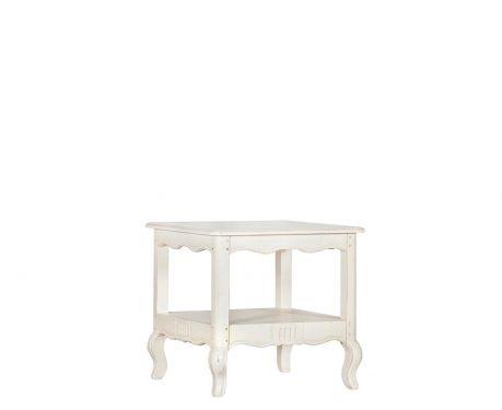Odkládací stolek VERA blanc