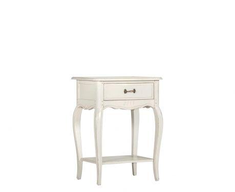 Odkládací stolek SUSANNE blanc