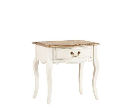 Noční stolek VIVIN ořech / ecru