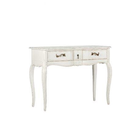 Toaletní stolek CLAIRE blanc