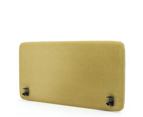 Akustický panel pro psací stůl 120x60 žlutý
