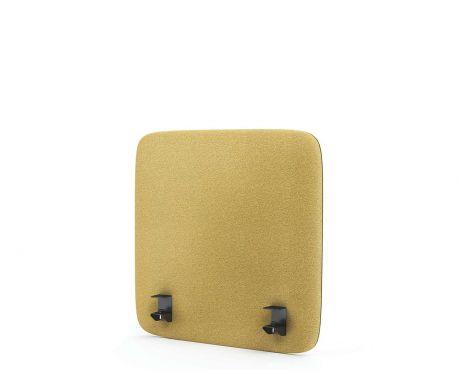 Akustický panel pro psací stůl 60x60 žlutý